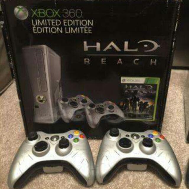 Xbox 360 250 GB Slim Halo Reach Limited Edition