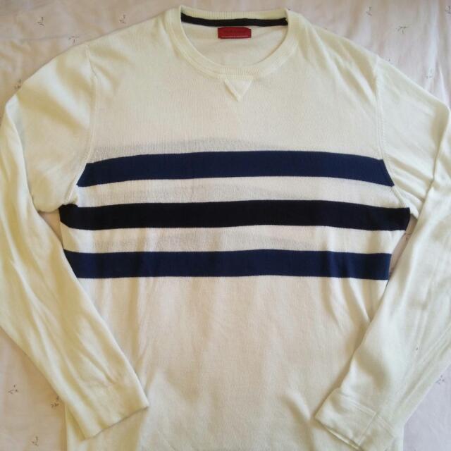 Zara 白色針織衫