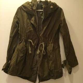韓版風衣外套