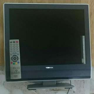 """Reserved 20"""" Toshiba LCD TV"""