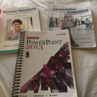 Office Administration Text Books 1st Term (ALGONQUIN COLLEGE)