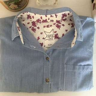 Garage Button Down Shirt (Size small)