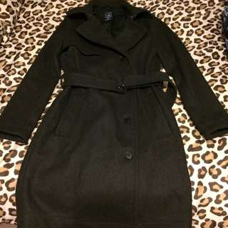 Long Women's Wool Gap Jacket