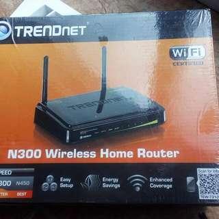 TrendNet N300 Router  - never used, still shrink-wrapped