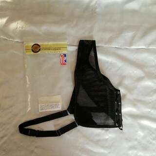 Small Black Archery Chest Guard