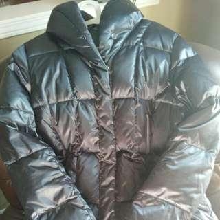 Lands' End Regular Metallic Shawl Collar Jacket (Winter)