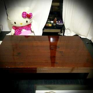 Coffee Table Solid Wood Good Furnished
