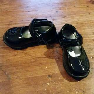 Kid's Patent Leather Shoes