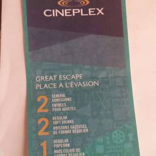 Movie Tickets *reserved*