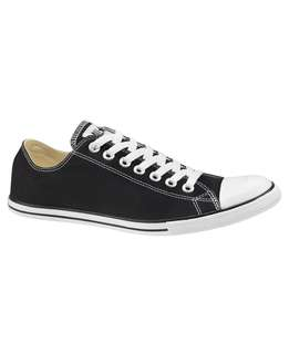 CONVERSE CHUCK TAYLOR ALL STAR DAINTY LO - BLACK - WOMEN'S