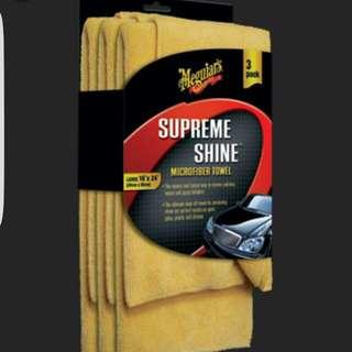 Meguiar Supreme Shine Microfiber Pack of 3