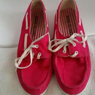 River Island boat shoes