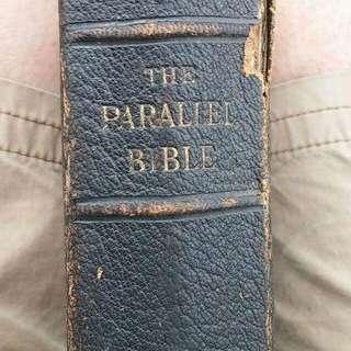 Bible CIRCA 1890