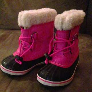 Pink Sorel Waterproof GIRLS GIRLS