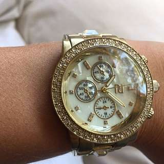 River Island Gold Watch