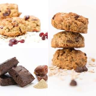 Lactation Cookies & Brownies