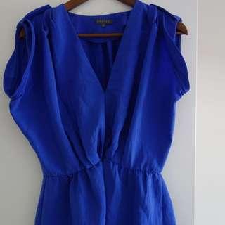 Sheike Blue Top