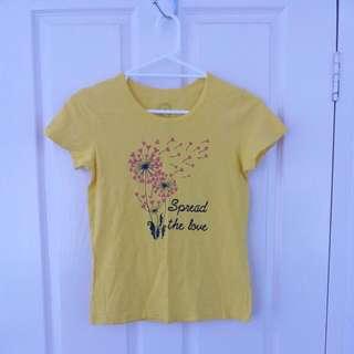 Yellow Giordano Shirt