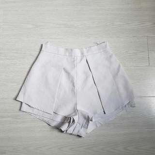 Light Grey Shorts Size 10