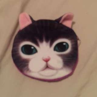 Animal Coin Purse Cute Cat