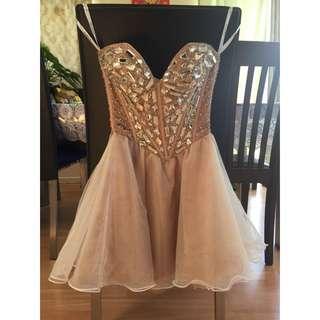 Jewelled Pink Sherri Hill Formal Dress