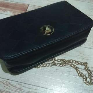 Ladies Evening Bag Black Sling Bag