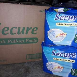 Secure Pull Up Diapers