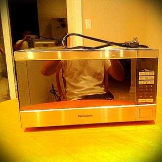 Microwave Panasonic - The Genuis