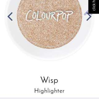(ON HOLD) COLOURPOP HIGHLIGHTER WISP