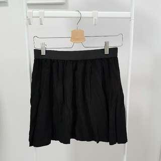 Cotton On Black Flowy Skirt