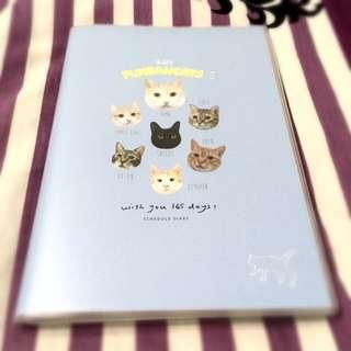 超人氣寵物cat年曆日記本