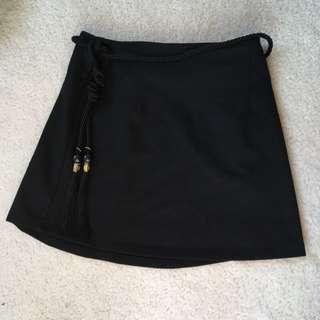 Mini Skirt With Belt Detail