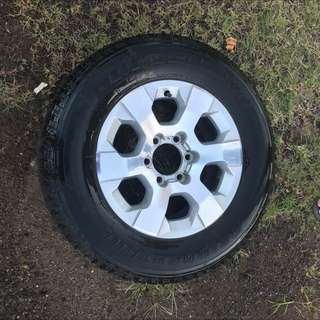 Holden Colorado Rims And Tyres