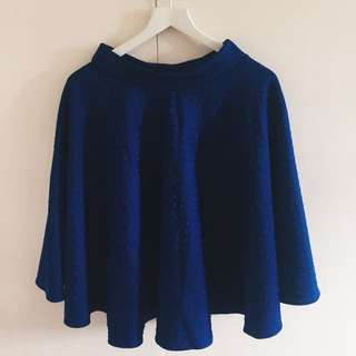 Brand New Midi Blue Skirt