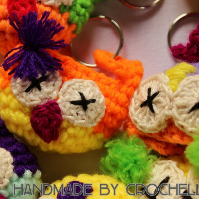 12 Pcs Handmade Owl Souvenir
