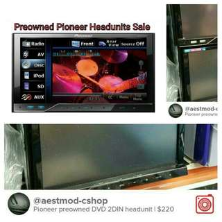 Preowned Pioneer / Android Headunits for sale