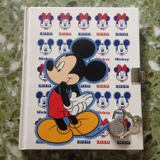 Disney Mickey Mouse Note Books