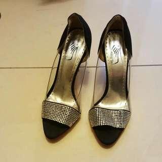水晶優雅女鞋