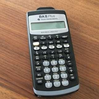 Texas Instruments BAII Plus