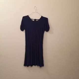 Size S Dark Blue Dress