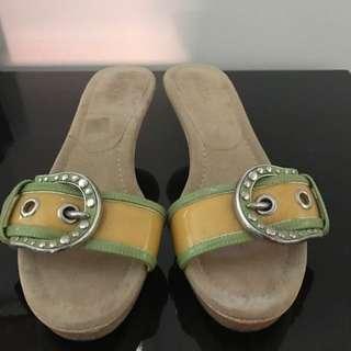 Authentic Prada Flip Flop Sandles