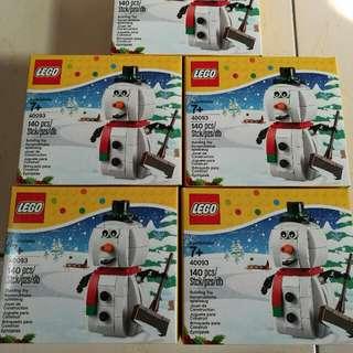 🚚 (新年限時特賣)LEGO樂高#40093~全新小盒積木~一盒350元