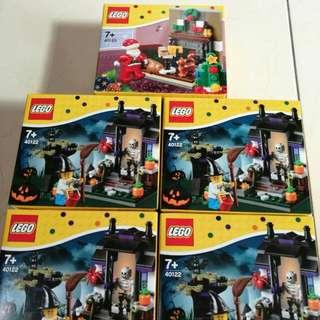 (新年限時特賣)LEGO樂高,有二款#40122(剩3盒)和#40125(已售出)~全新正版小盒積木~一盒350元