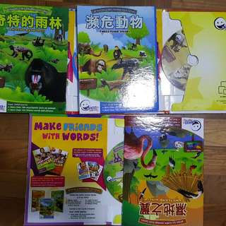 Winks To Learn Animal 6 Dvd-set - Simplified Chinese