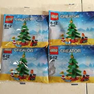 LEGO樂高#30286~全新袋裝積木~一包120元,聖誕小禮物首選