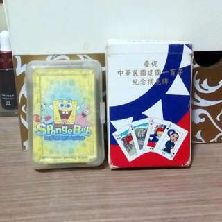 海棉寶寶 慶祝中華民國建國一百年紀念撲克牌