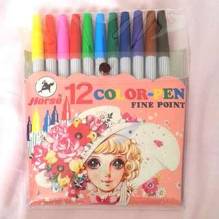 11 Coloured Markers