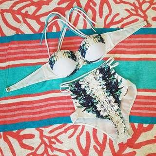 Zaful 2 Piece High Waisted Bikini