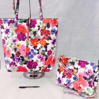 Ladies Handbag And Cosmetic bag