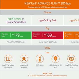 TM UNIFI PROMO 30Mbs